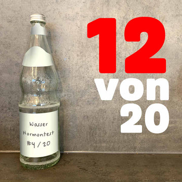 Hormones also in mineral water. 12 of 20 mineral waters tested contained hormone-active substances