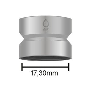 M18.5 female thread with dimensions