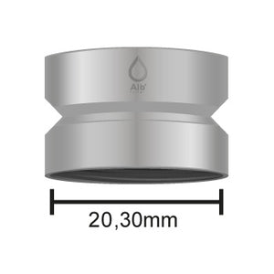 M21.5 female thread with dimensions