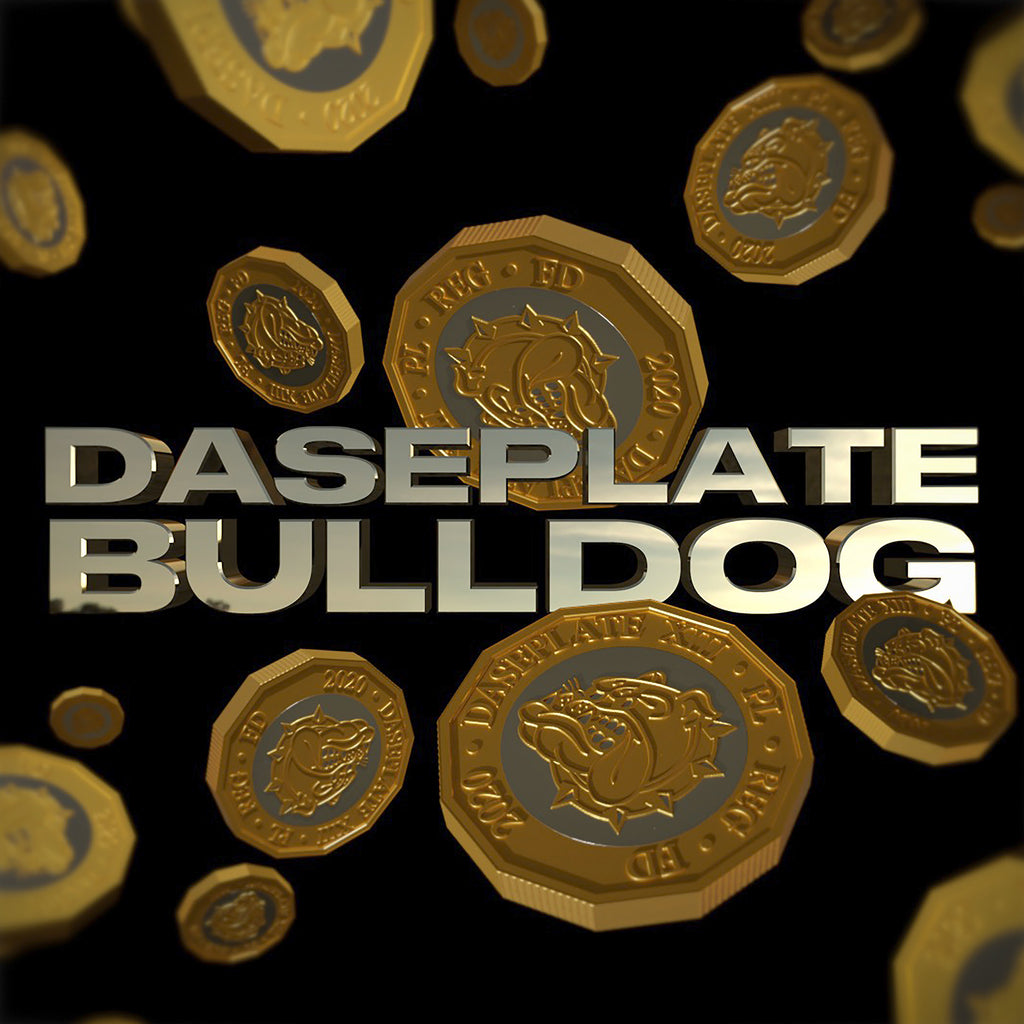 (PONDLIFE004) DASEPLATE - Bulldog - Digital