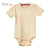 2-Pack Organic Short Sleeve Bodysuits with Snaps