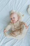 100% Organic Cotton Long Sleeve Sleepsuit