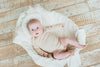 3-Pack Organic Cotton Bodysuit Natural