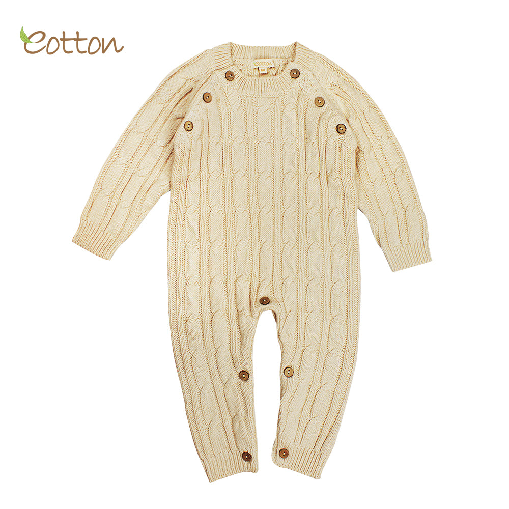 Organic Knitted Romper Quebec