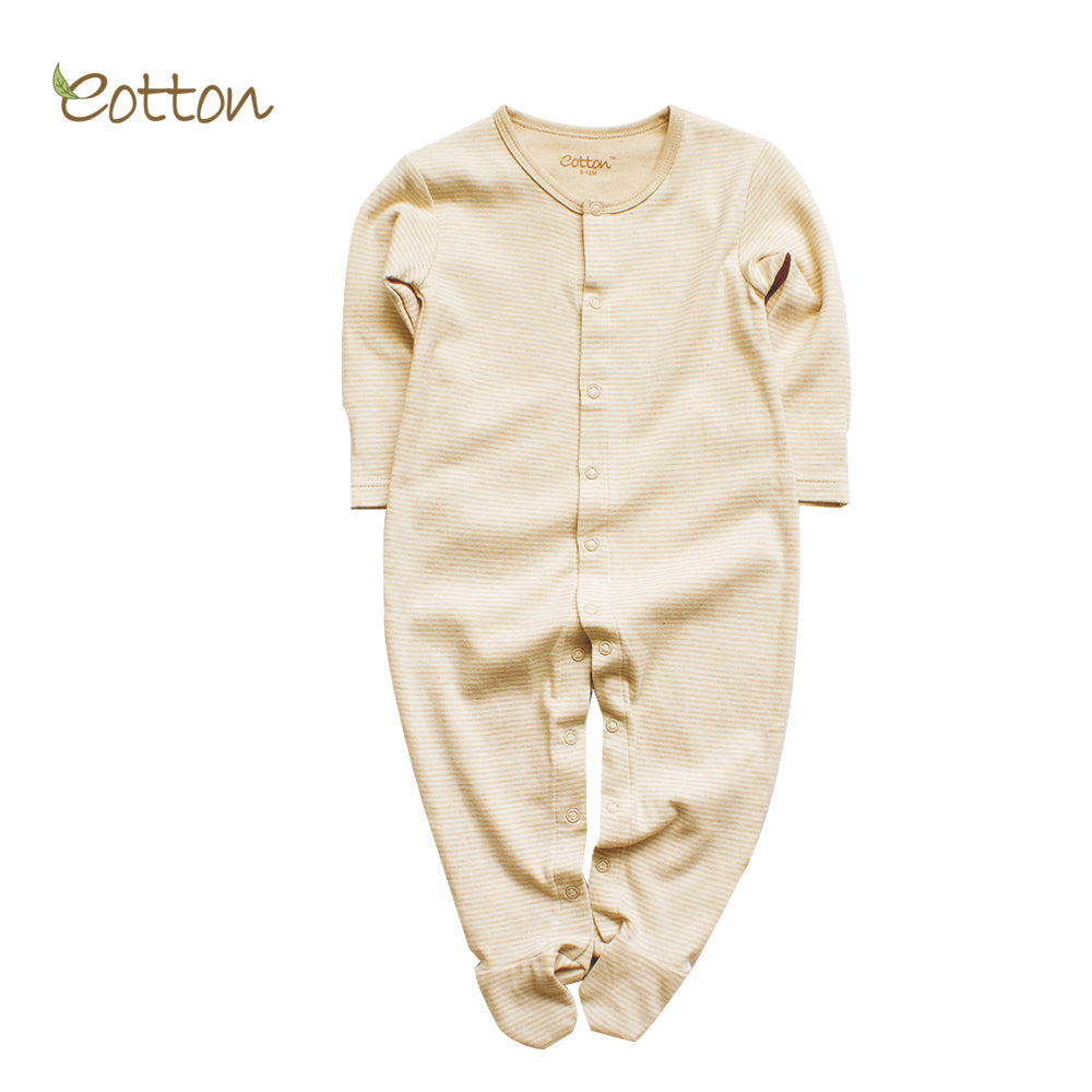 Organic Long Sleeve Sleepsuit