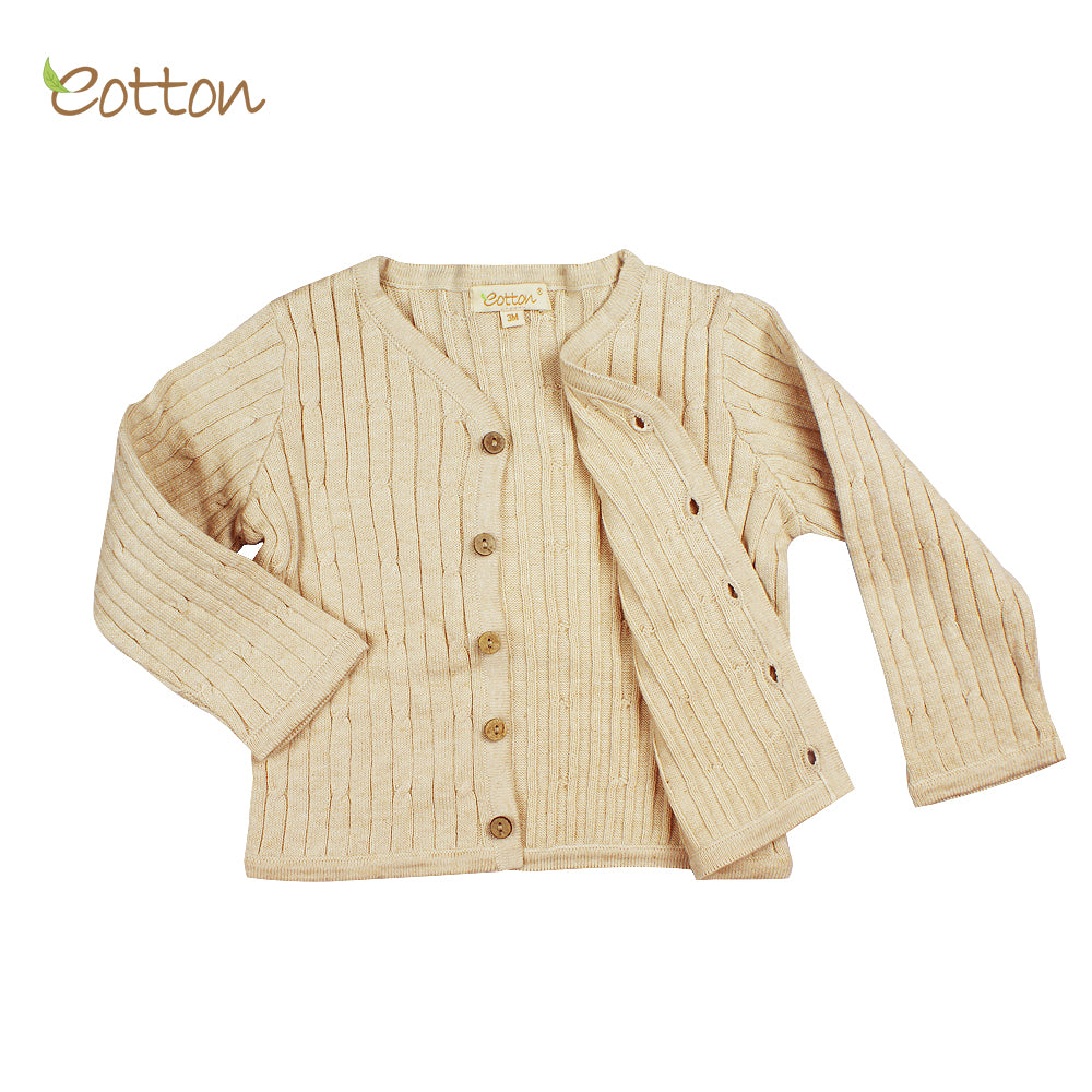 Organic Knitted  Cardigan