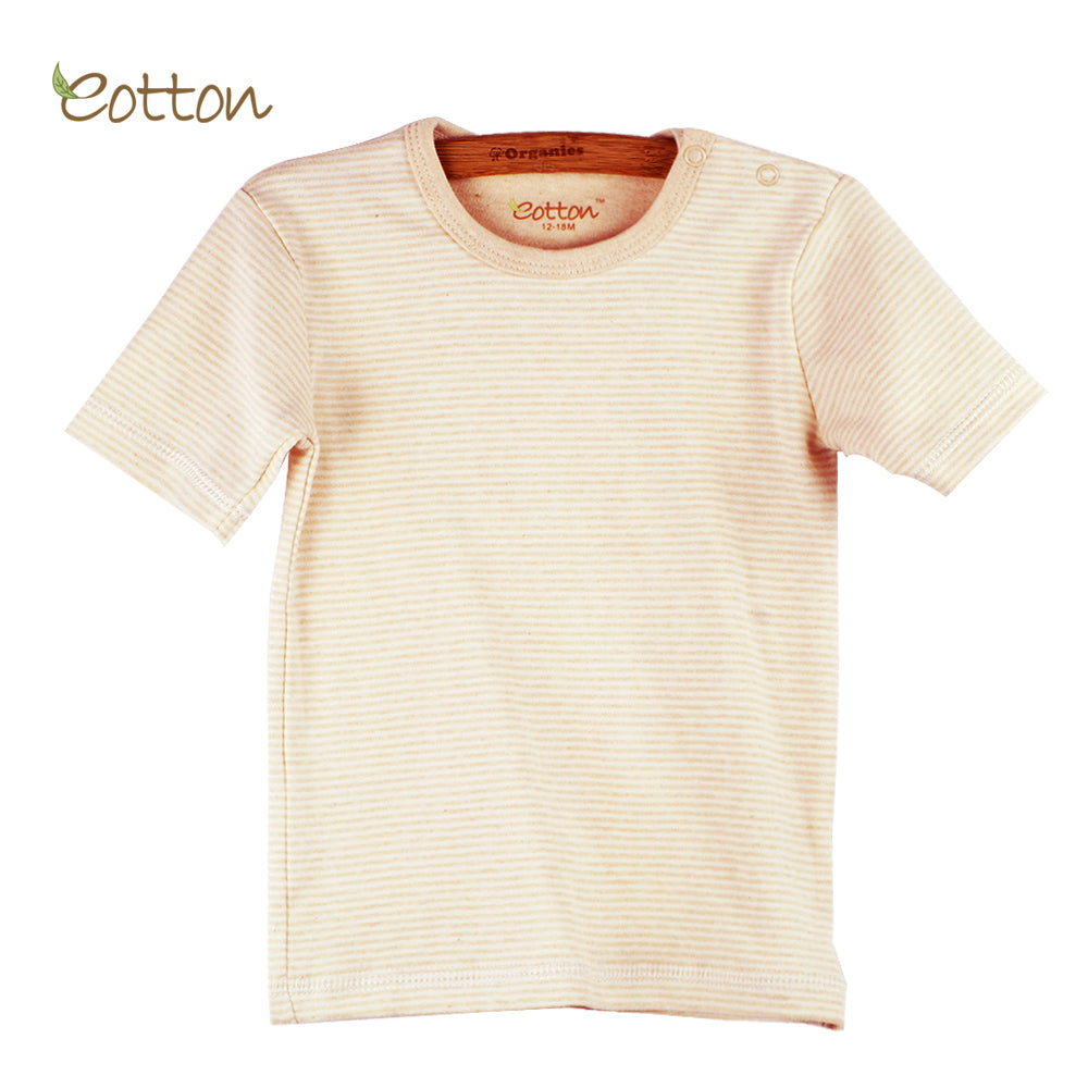 Organic Short Sleeve Plain T-shirt