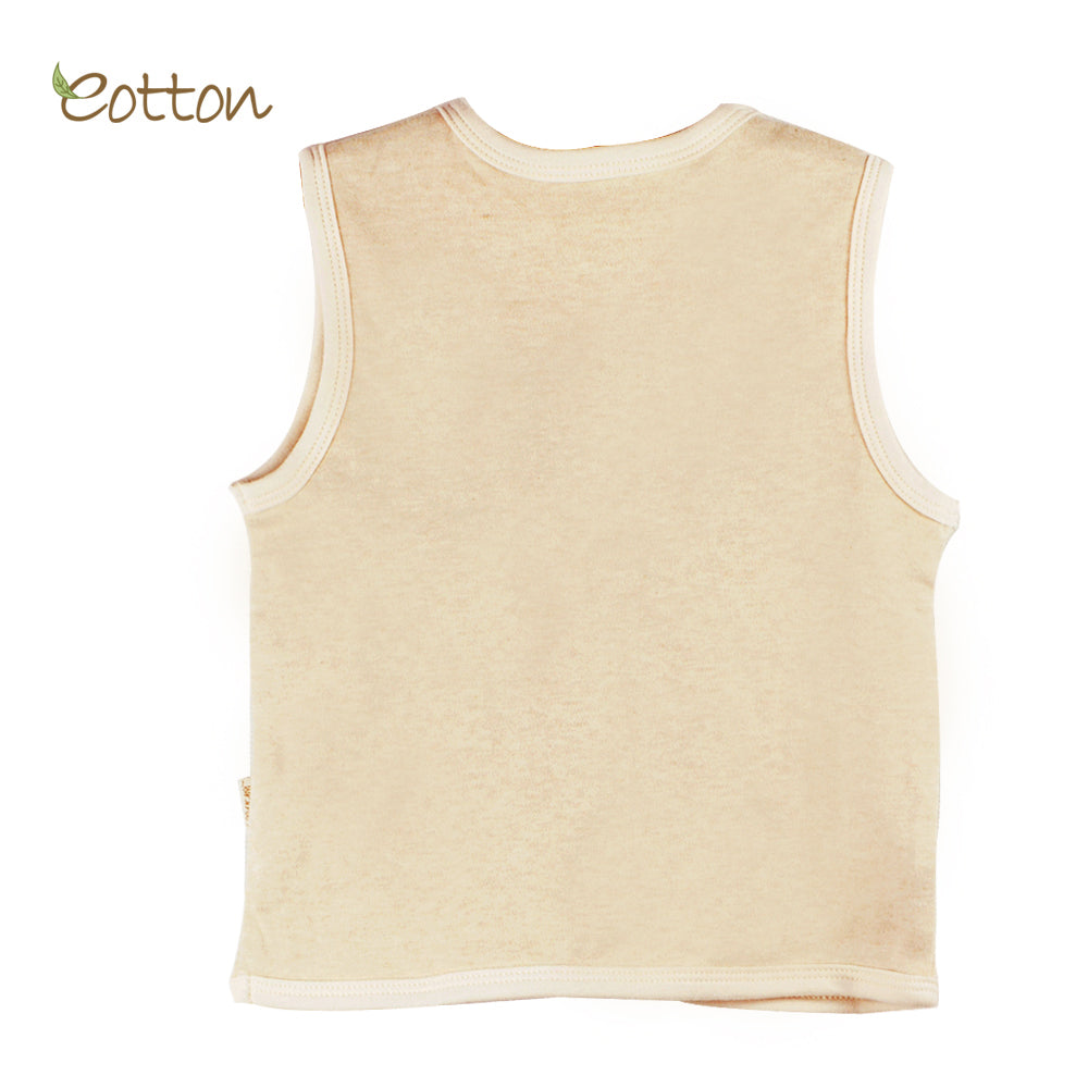 Organic Cotton Double Layer Reversible Vest