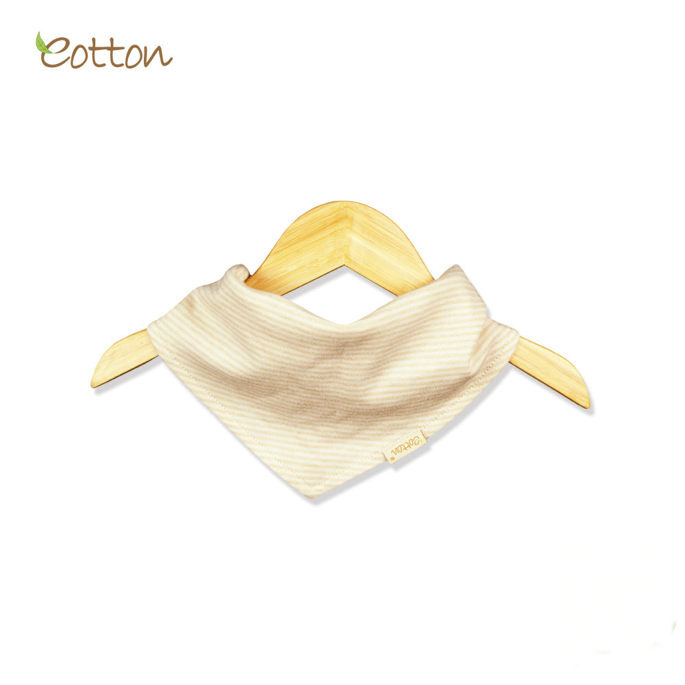 2-Pack Organic Triangle Bibs