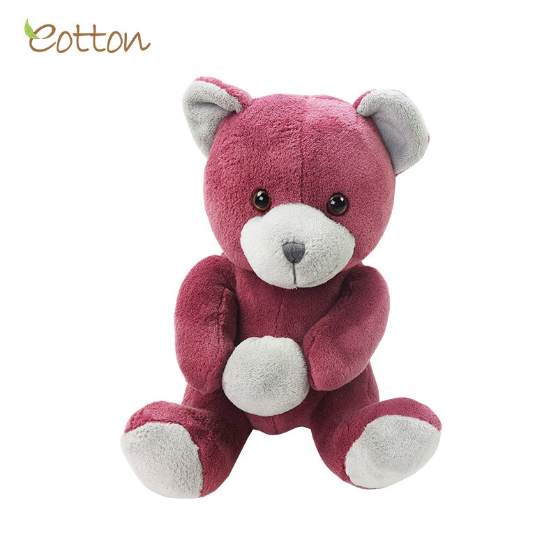 Coral Fleece Pink Teddy Bear Toy