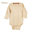 2-Pack Organic Long Sleeve Bodysuit with Snaps.