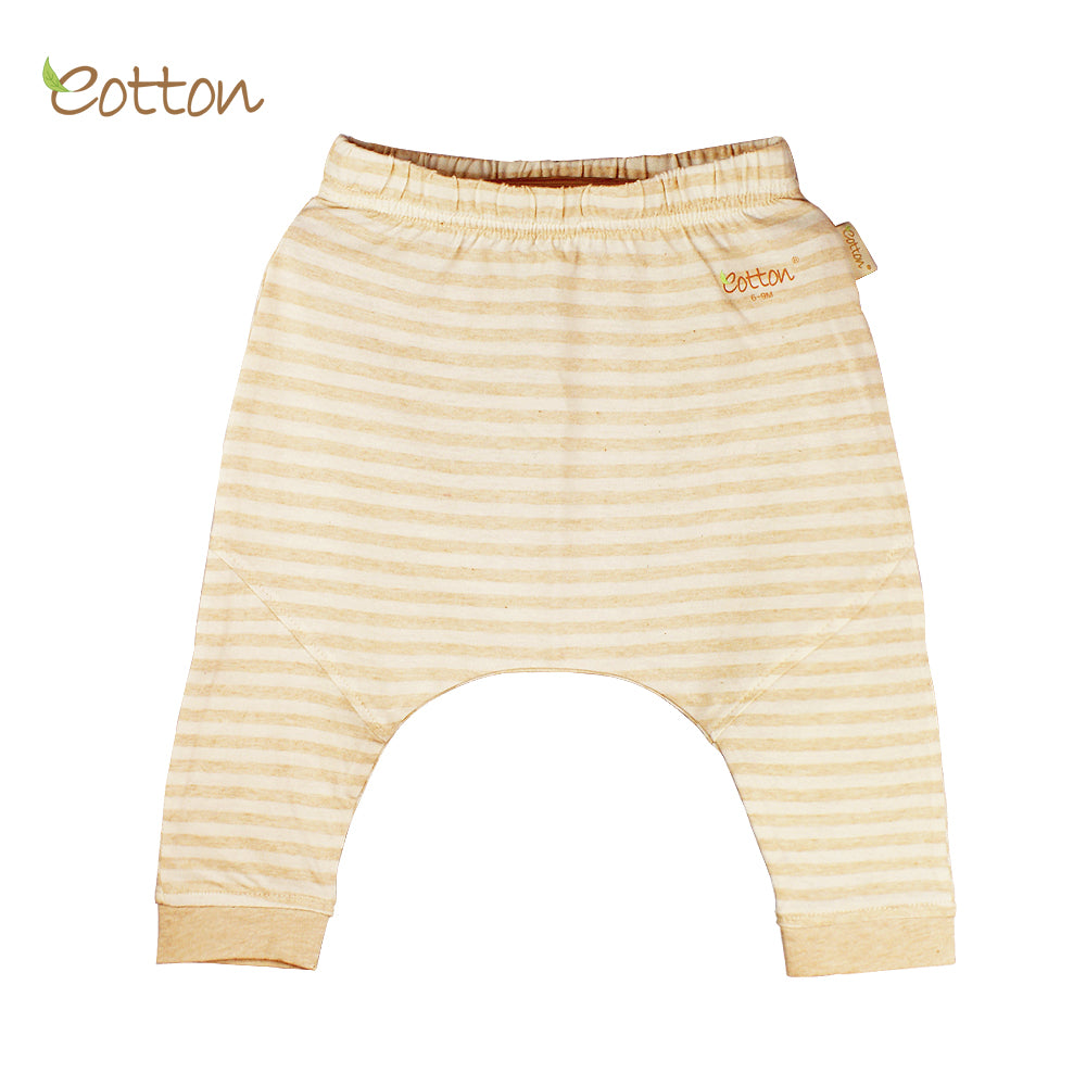 Organic Single Jersey Stripe Summer Baby Trouser