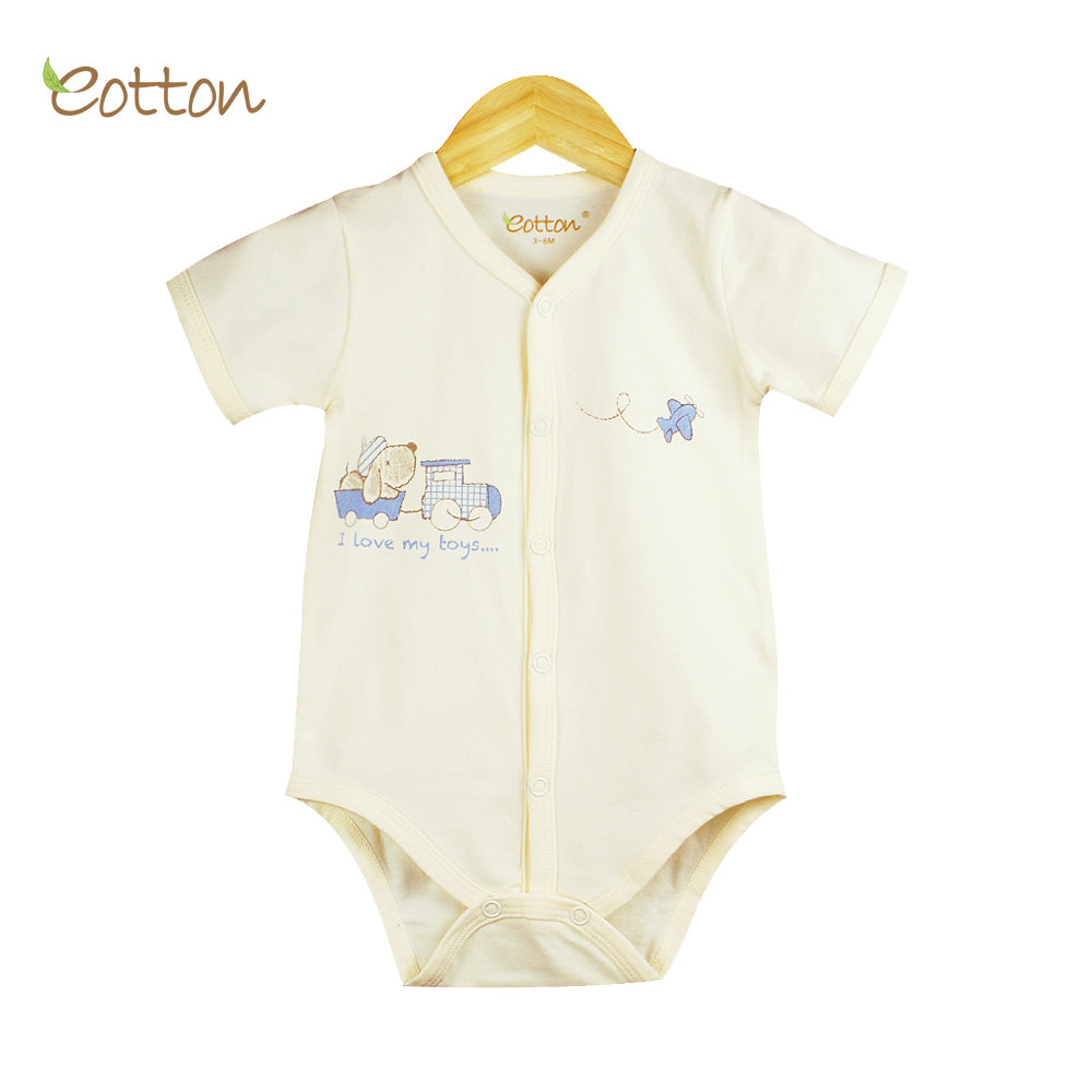 Organic Baby Cream  Summer Bodysuit