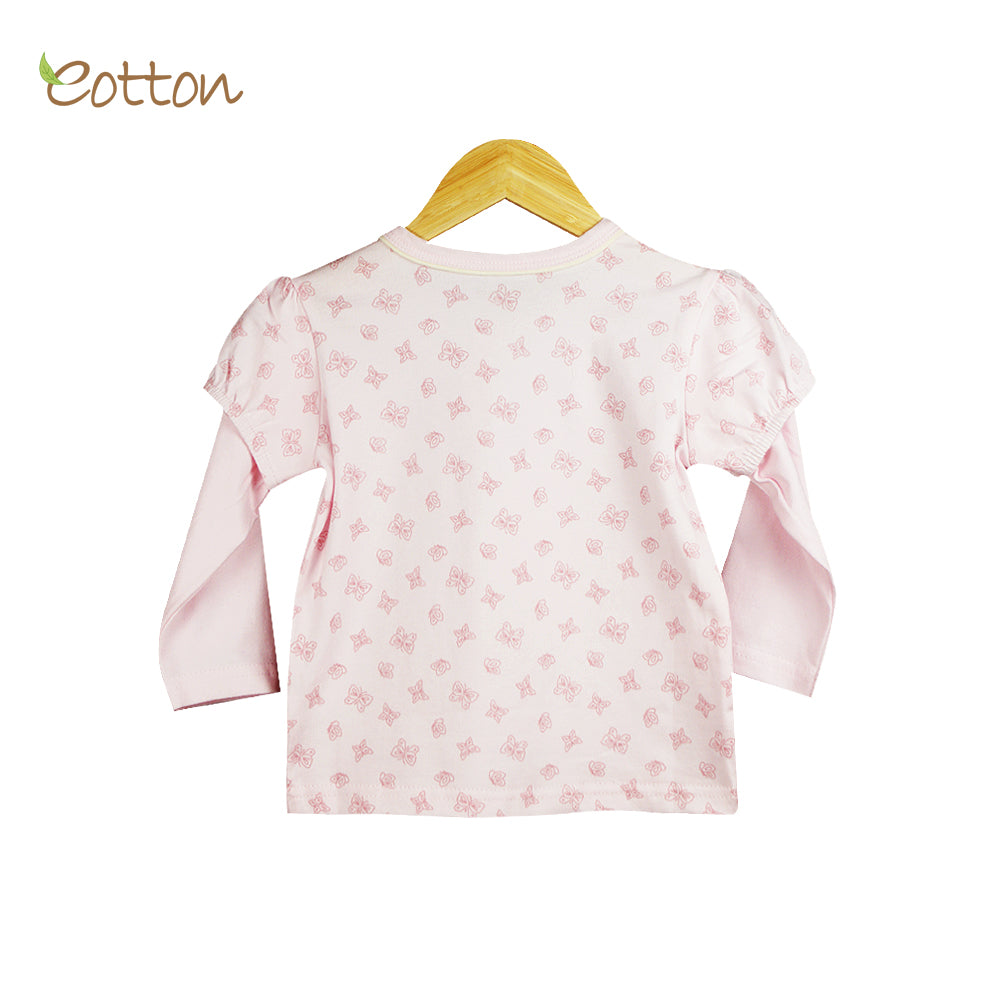 Organic Baby Juliet Sleeve Pyjama Top.