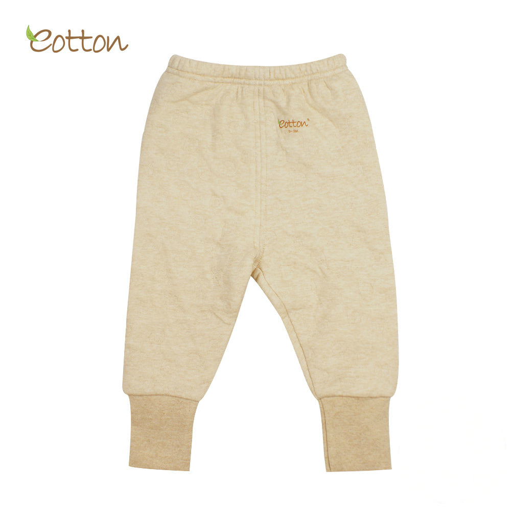 Organic Baby Winter Trousers with Cuffs