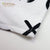 Organic XO Black and White Snap Closure Baby Bib