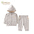 Organic Pale Grey Baby TrackSuit