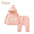 Organic Pale Pink 2-Piece Snowsuit.