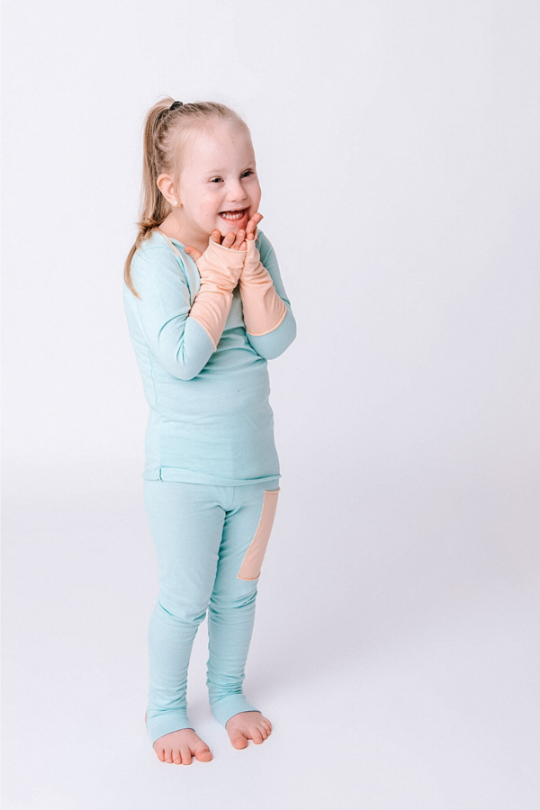 Long Sleeve & Leggings Set - Awakind: Cotton PJ's and bedding for kids. Profits Donated to Children in Need