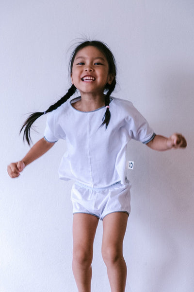 Box Tee Set - Awakind: Cotton PJ's and bedding for kids. Profits Donated to Children in Need