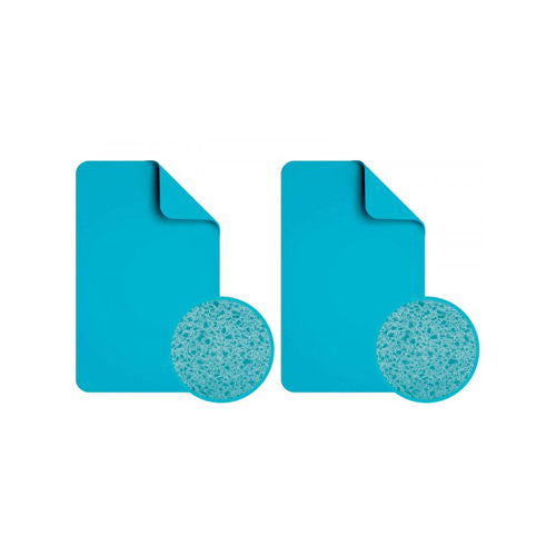 POWERPAD XL BLUE 2 STUKS 170X107MM