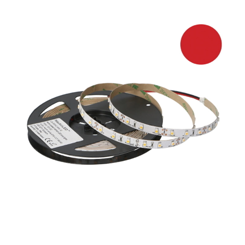 LED STRIP IP66, RED RA>80, 1 METER IP66
