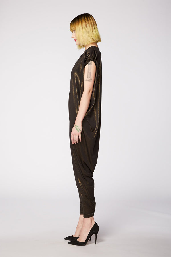 BLACK GOLD JUMPSUIT
