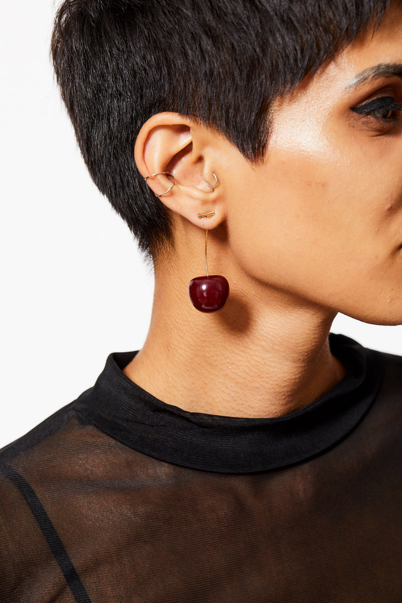 SWEET LIKE CHERRY PIE EARRINGS