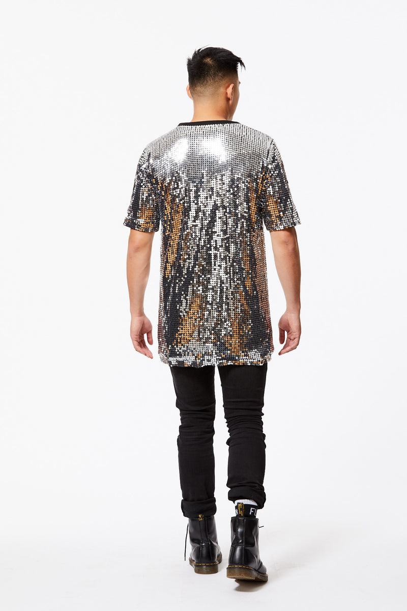 NO MOLLY FOR TOM SEQUIN T-SHIRT