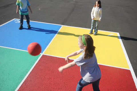 four square at recess