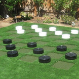 Giant Checkers Set - Fit and Fun Playscapes LLC
