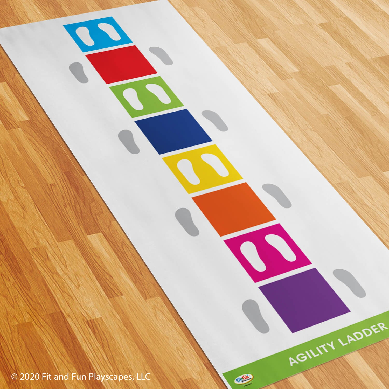 Fitness Agility Ladder Roll-Out Activity