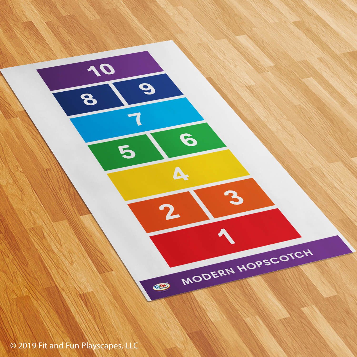 Modern Hopscotch Roll-Out Activity