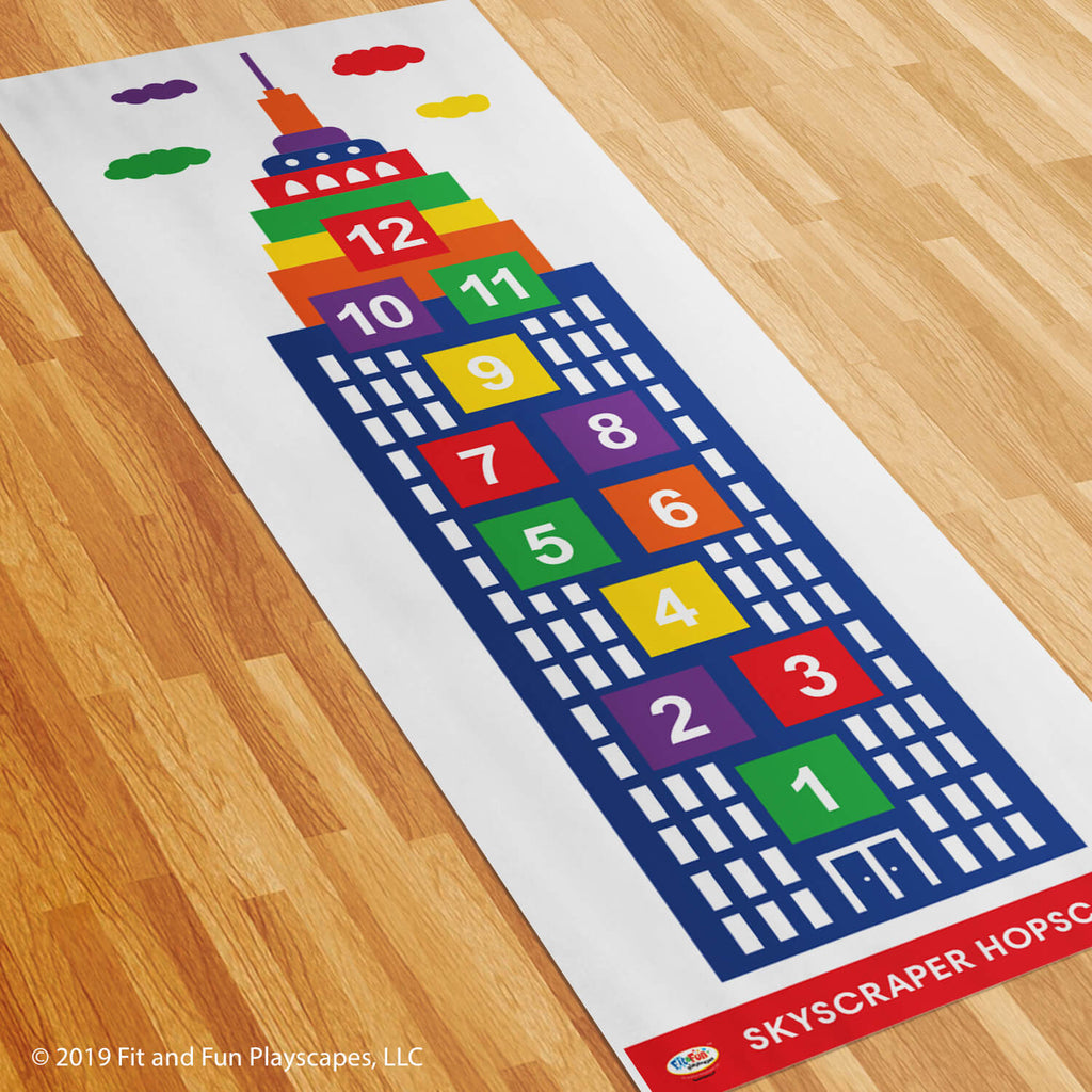 Skyscraper Hopscotch Roll-Out Activity™