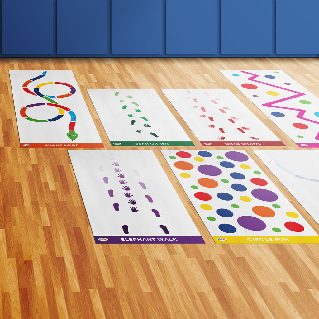 Portable Sensory Pathway Roll-Out Activities™ Package