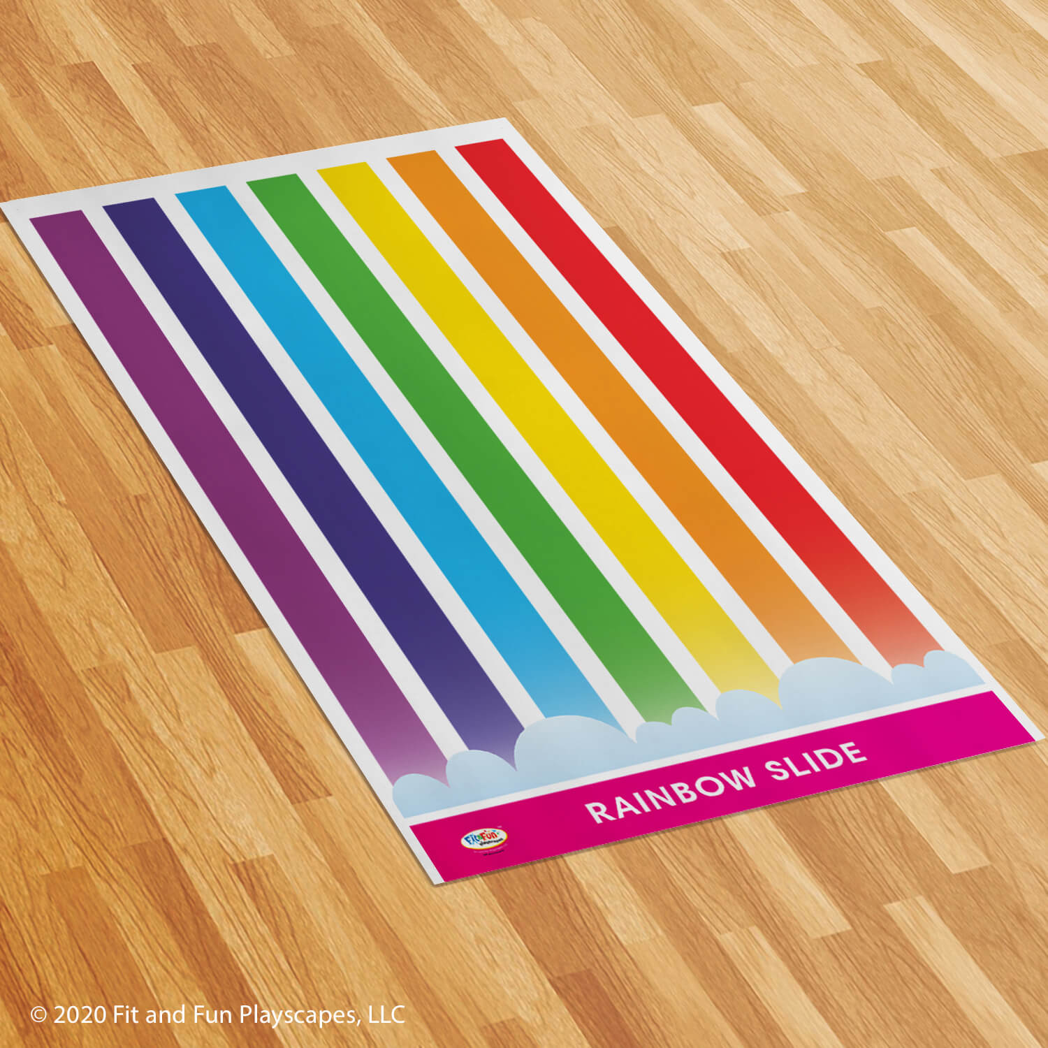 Rainbow Slide Roll-Out Activity