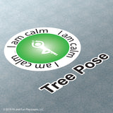 Tree Pose Super Stickers®