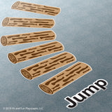 Jump Logs™ Super Stickers™