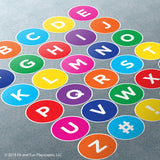 Uppercase Letter Set Super Stickers™ - Fit and Fun Playscapes LLC