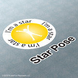 Star Pose Super Stickers™