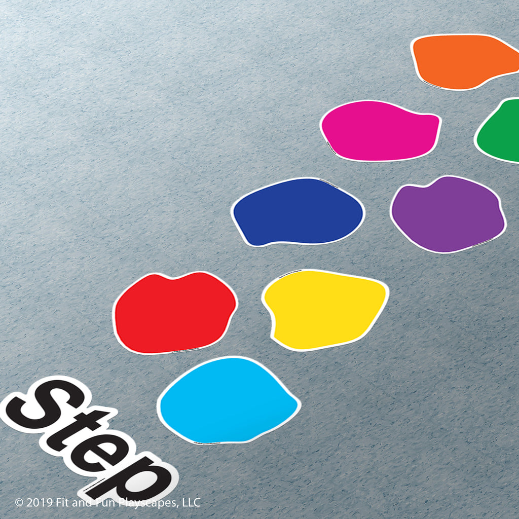Step Stones Super Stickers™