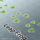 Friendly Leap Frogs Super Stickers®