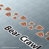 Brave Bear Crawl Super Stickers™ - Fit and Fun Playscapes LLC