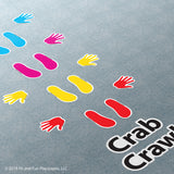 Crab Crawl Super Stickers®