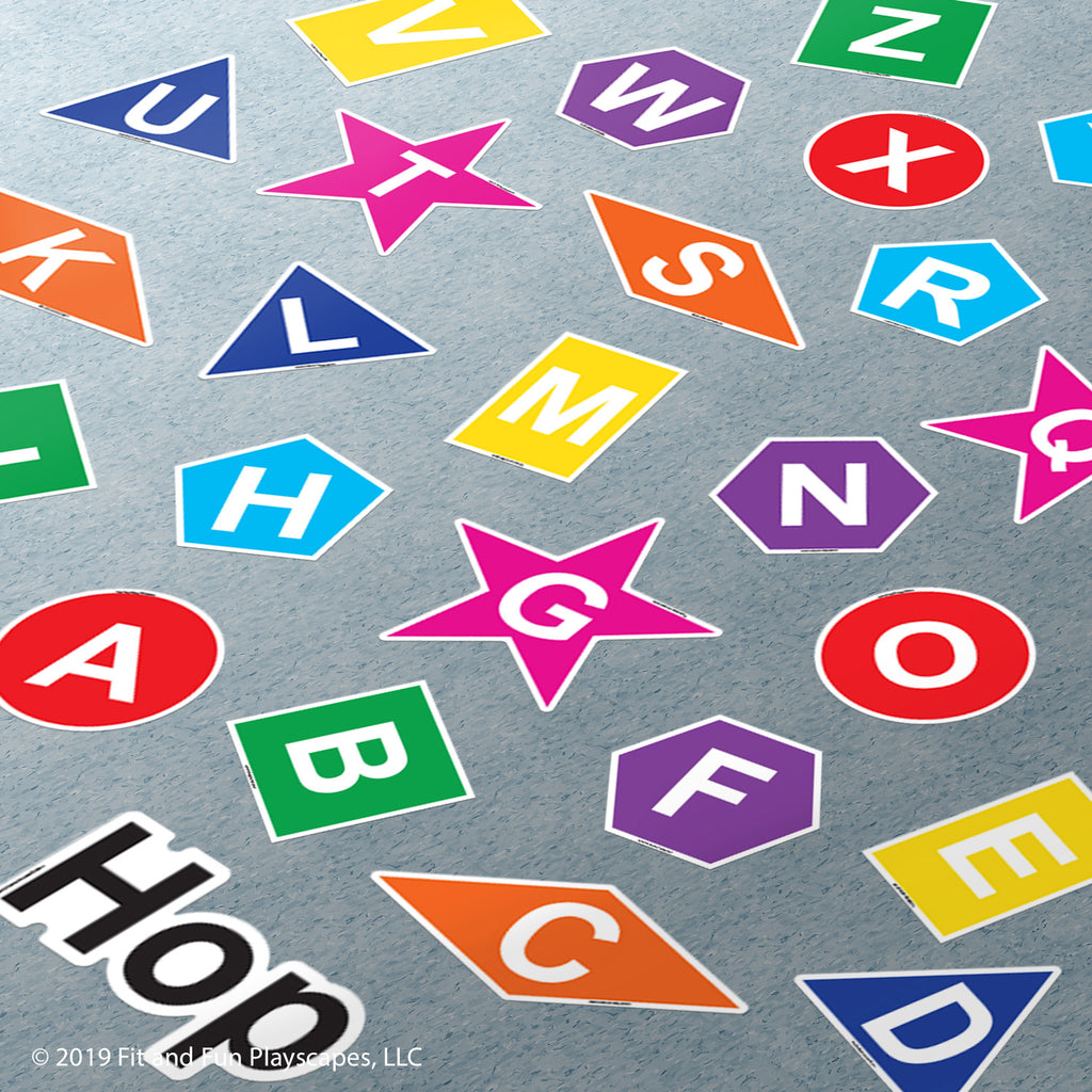 Hop Letters and Shapes™ Super Stickers™