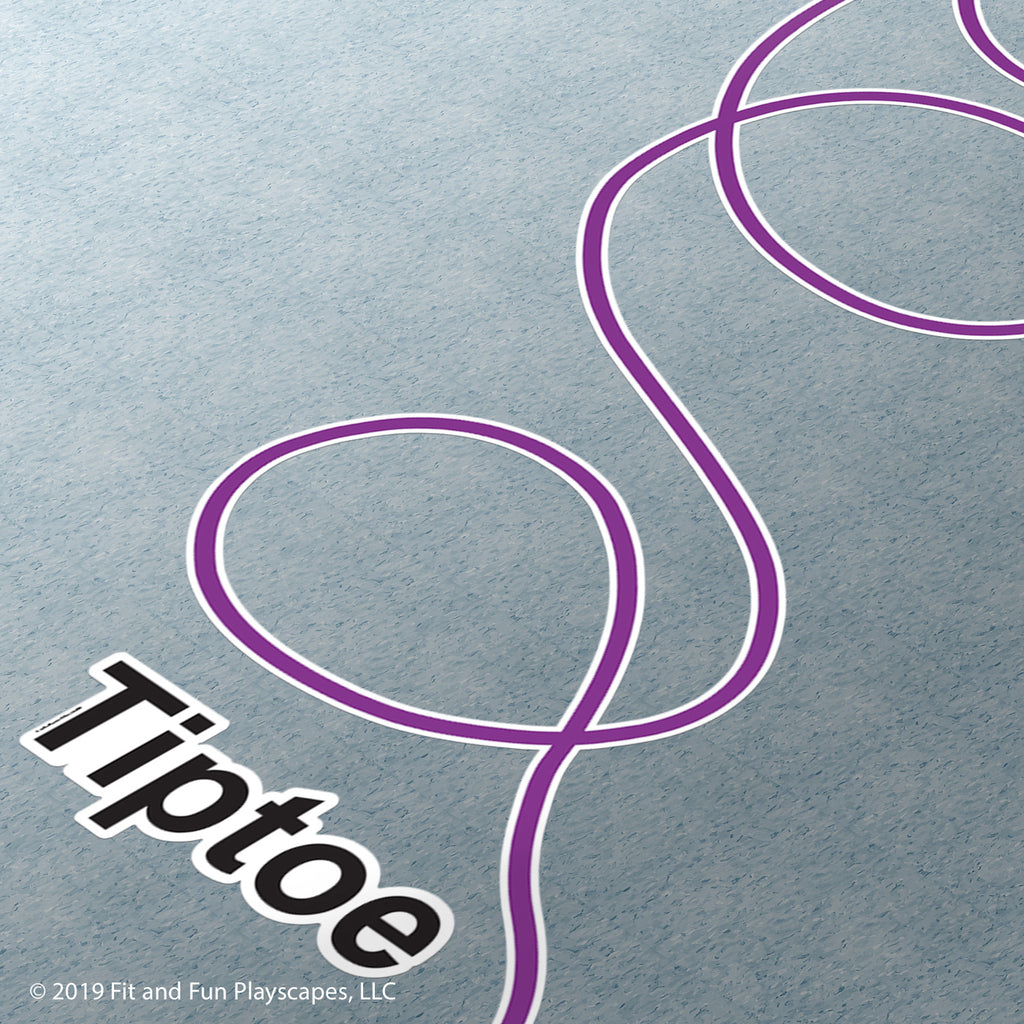 Tiptoe Loop™ Super Stickers®