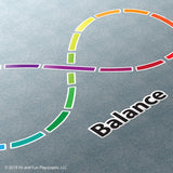 Rainbow Infinity Loop Super Stickers®