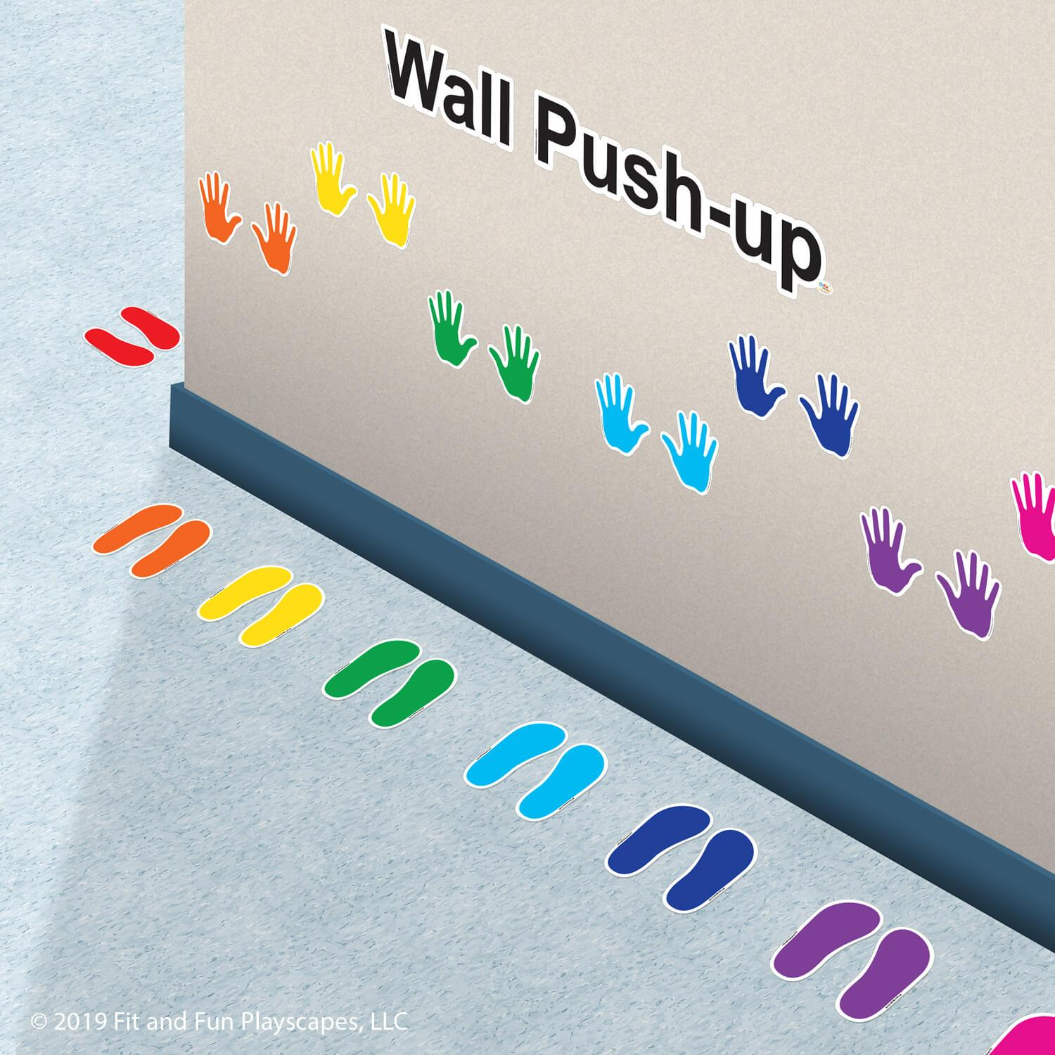 Wall Push-Up Super Stickers®