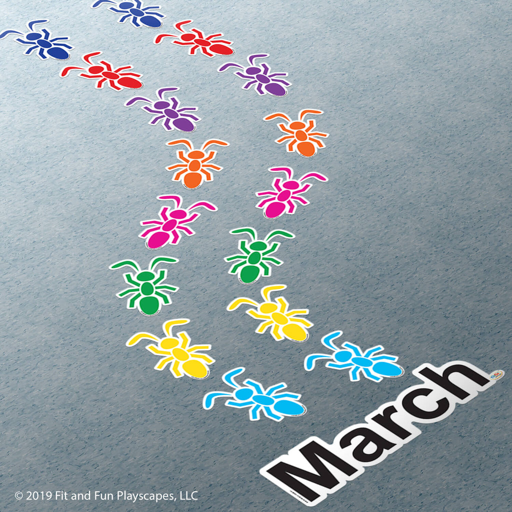 March Ants Super Stickers®