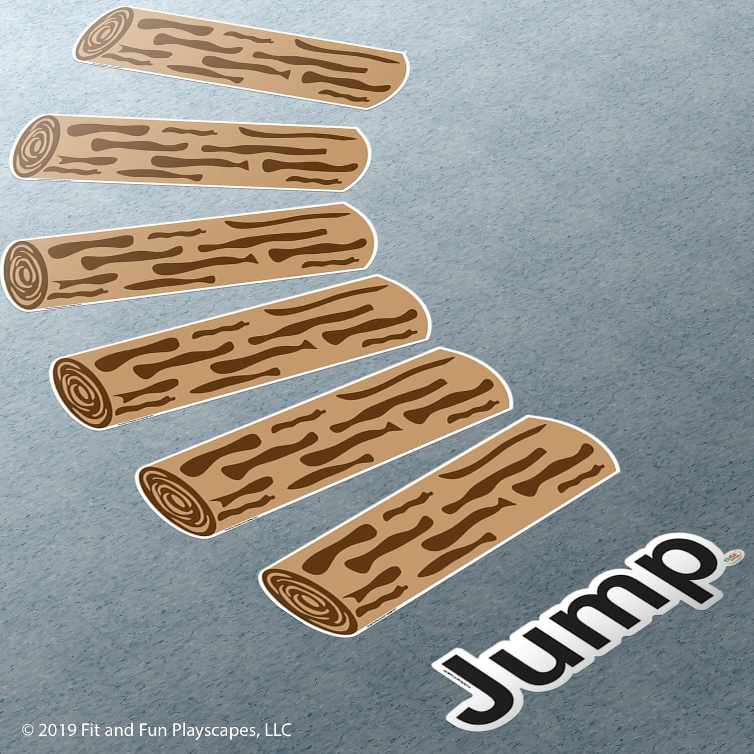Jump Logs™ Super Stickers<sup>®</sup>